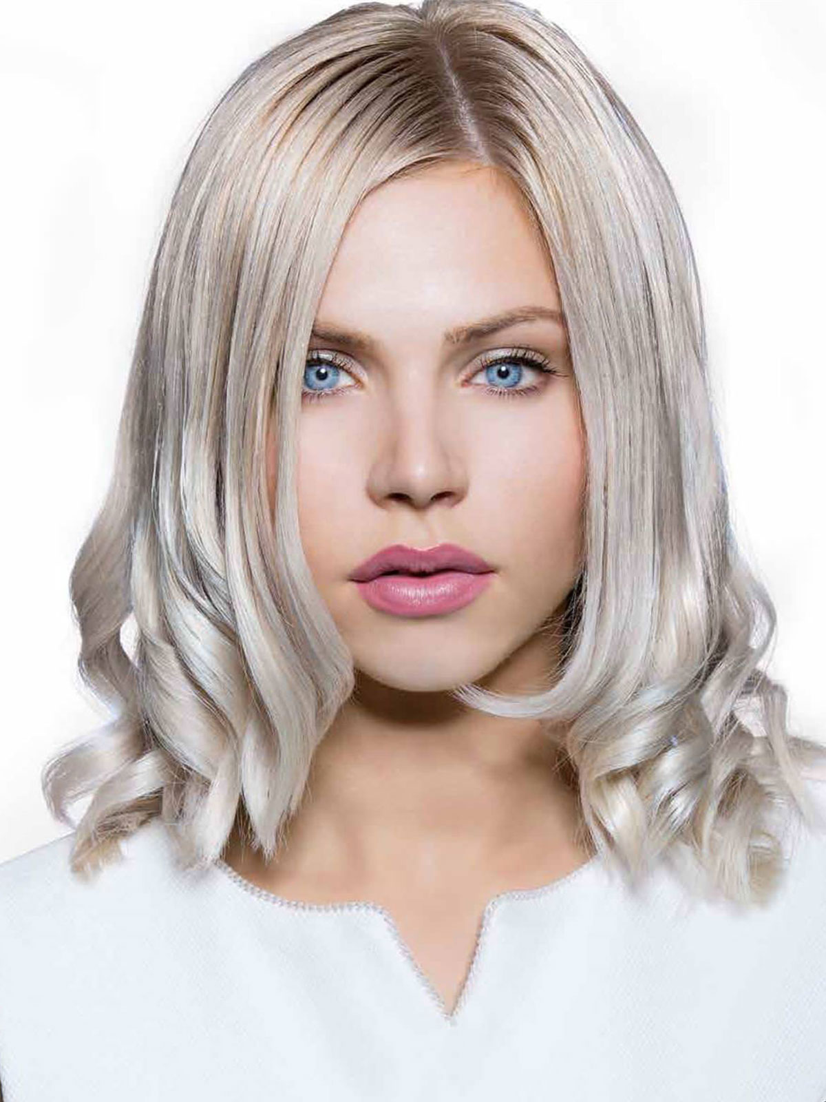 Blond bleu
